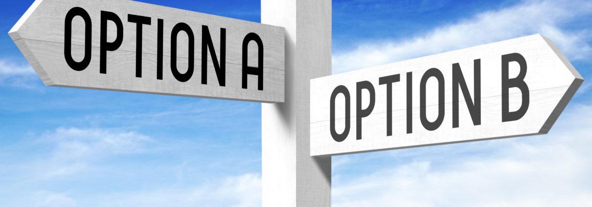 Option A B Shutterstock